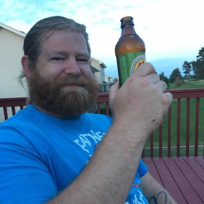 Tim Drinking